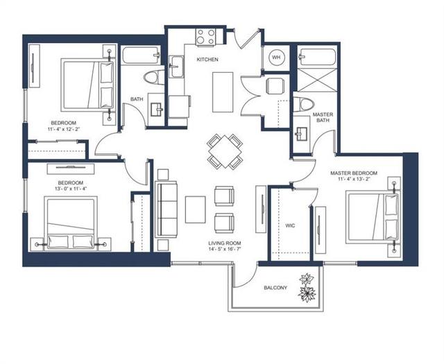 3 Bedrooms, Midtown Rental in Atlanta, GA for $4,303 - Photo 2