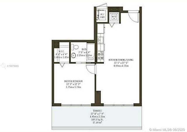 1 Bedroom, Midtown Miami Rental in Miami, FL for $2,050 - Photo 2