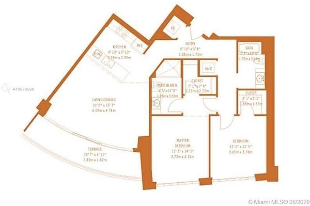 2 Bedrooms, Midtown Miami Rental in Miami, FL for $2,700 - Photo 2