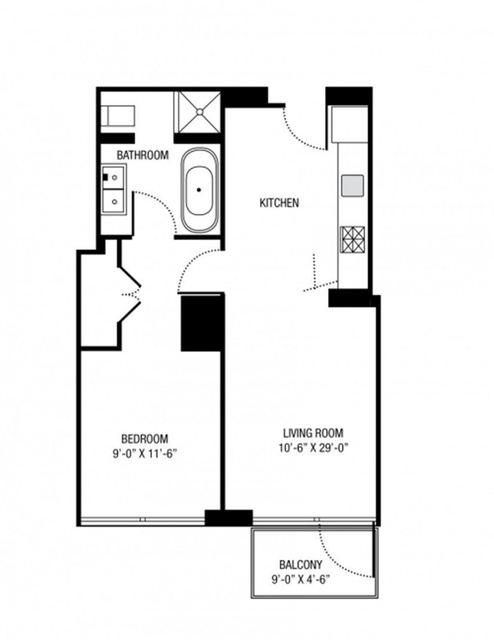 1 Bedroom, Gramercy Park Rental in NYC for $4,000 - Photo 2