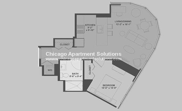 1 Bedroom, Dearborn Park Rental in Chicago, IL for $2,272 - Photo 2