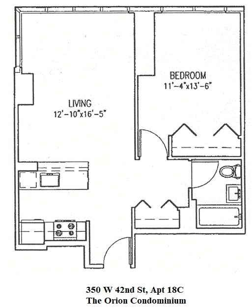 1 Bedroom, Garment District Rental in NYC for $2,699 - Photo 2