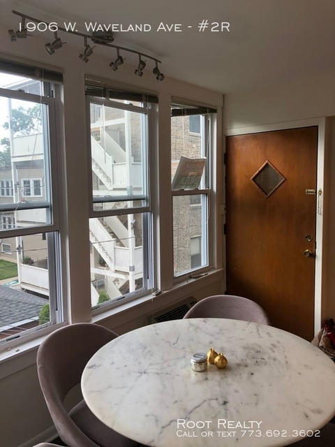 1 Bedroom, North Center Rental in Chicago, IL for $1,550 - Photo 2
