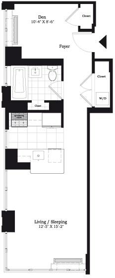 Studio, East Harlem Rental in NYC for $3,850 - Photo 2