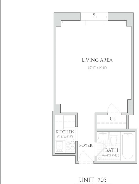 Studio, Chelsea Rental in NYC for $2,395 - Photo 2