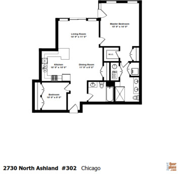 2 Bedrooms, Lathrop Rental in Chicago, IL for $2,300 - Photo 2