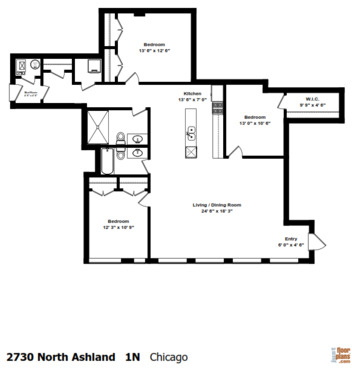 3 Bedrooms, Lathrop Rental in Chicago, IL for $2,900 - Photo 2