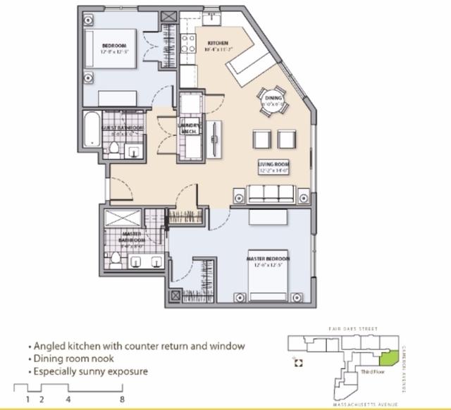 2 Bedrooms, North Cambridge Rental in Boston, MA for $4,100 - Photo 2