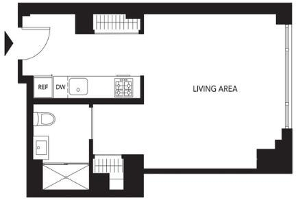 Studio, Murray Hill Rental in NYC for $2,708 - Photo 2