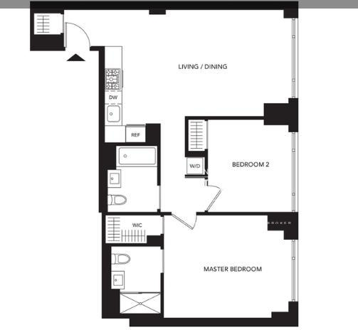 Studio, Murray Hill Rental in NYC for $4,781 - Photo 2