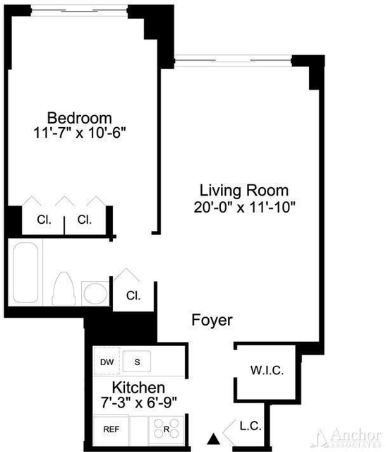 1 Bedroom, Sutton Place Rental in NYC for $3,020 - Photo 2