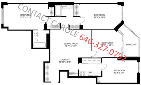 4 Bedrooms, Murray Hill Rental in NYC for $4,945 - Photo 2