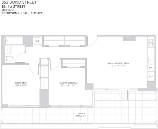 2 Bedrooms, Gowanus Rental in NYC for $5,720 - Photo 2