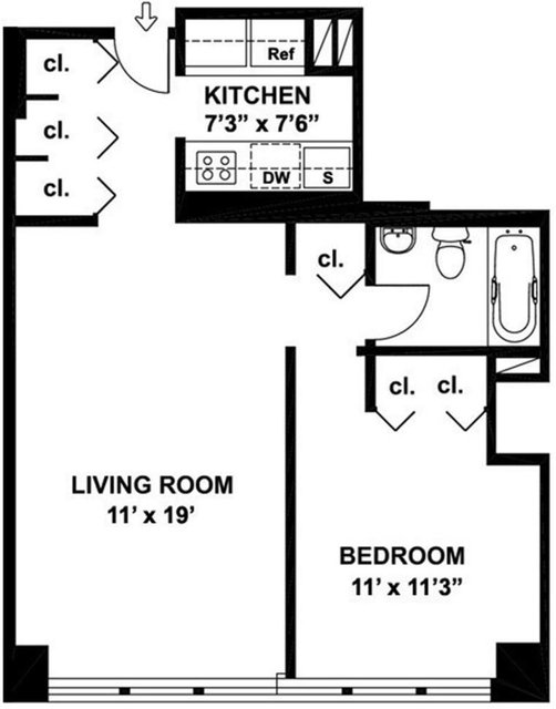 1 Bedroom, Turtle Bay Rental in NYC for $2,567 - Photo 2