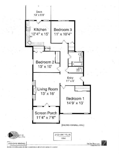 3 Bedrooms, Logan Square Rental in Chicago, IL for $2,099 - Photo 2