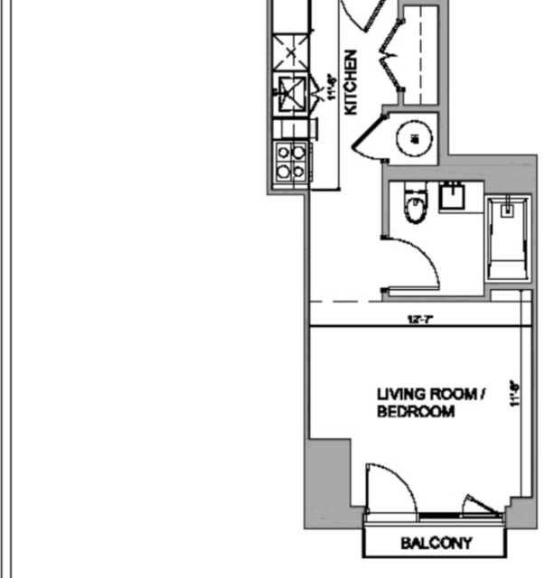 Studio, Long Island City Rental in NYC for $2,435 - Photo 2