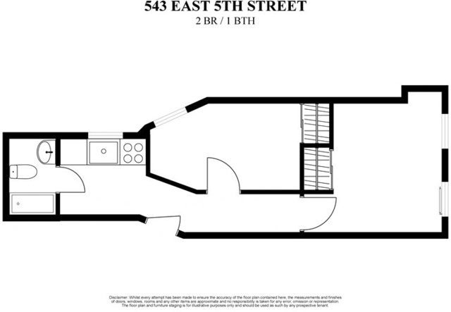 2 Bedrooms, Alphabet City Rental in NYC for $2,225 - Photo 2