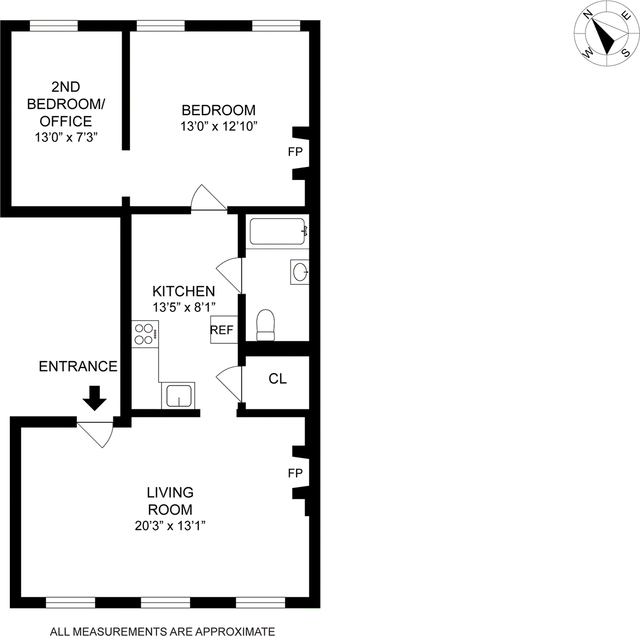 2 Bedrooms, West Village Rental in NYC for $3,705 - Photo 2