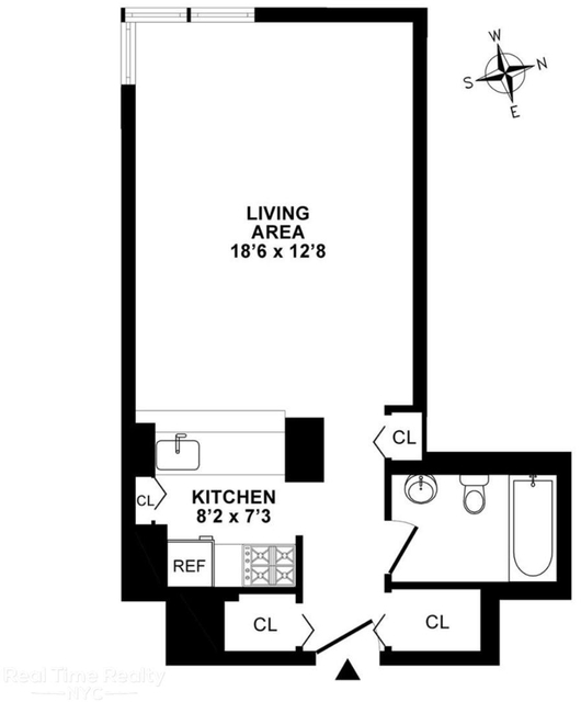 Studio, Theater District Rental in NYC for $2,650 - Photo 2