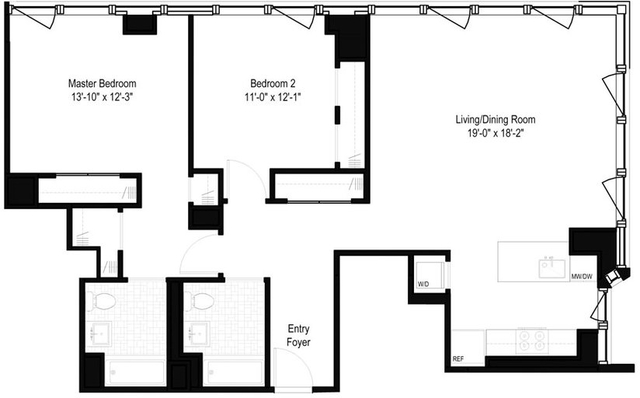 2 Bedrooms, Yorkville Rental in NYC for $9,160 - Photo 2