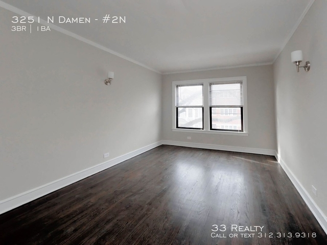 3 Bedrooms, Roscoe Village Rental in Chicago, IL for $2,100 - Photo 1