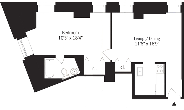 1 Bedroom, Koreatown Rental in NYC for $3,795 - Photo 2