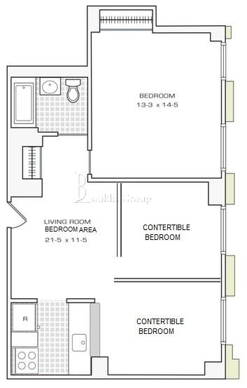 1 Bedroom, Financial District Rental in NYC for $3,088 - Photo 1