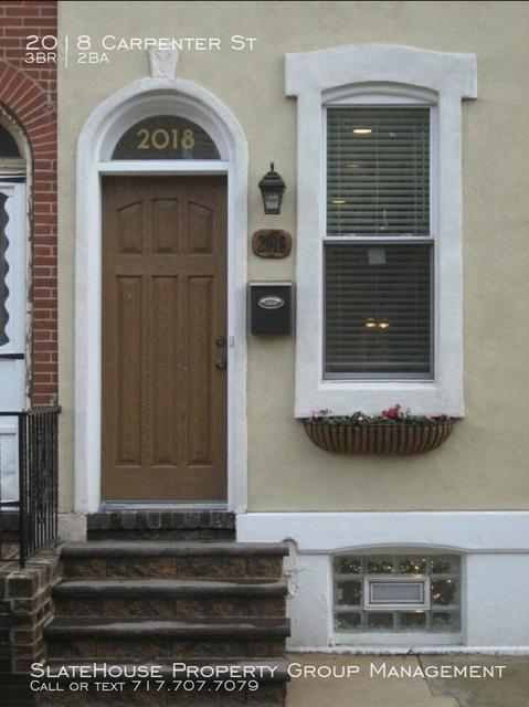 3 Bedrooms, Graduate Hospital Rental in Philadelphia, PA for $2,800 - Photo 1