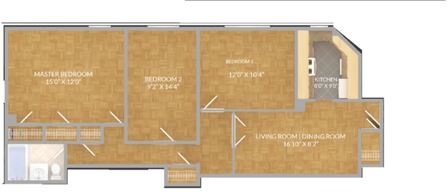 3 Bedrooms, Stuyvesant Town - Peter Cooper Village Rental in NYC for $3,750 - Photo 2