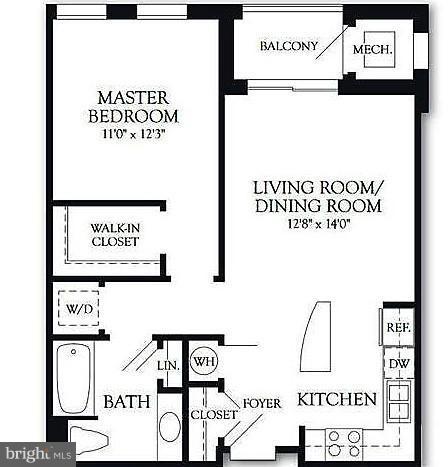1 Bedroom, Monarch Condominiums Rental in Washington, DC for $2,250 - Photo 2