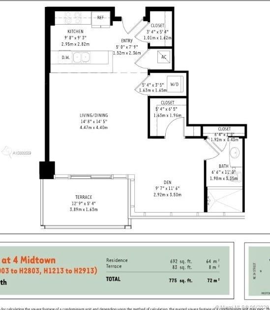 Studio, Midtown Miami Rental in Miami, FL for $1,850 - Photo 2