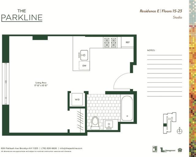 Studio, Prospect Lefferts Gardens Rental in NYC for $2,246 - Photo 2