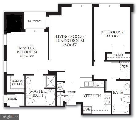 2 Bedrooms, Monarch Condominiums Rental in Washington, DC for $2,900 - Photo 2