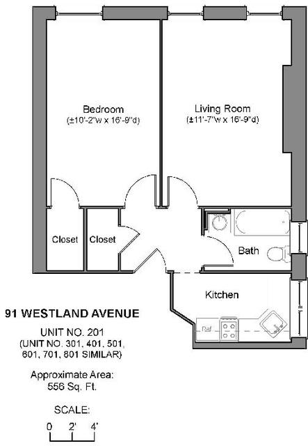 1 Bedroom, Fenway Rental in Boston, MA for $2,770 - Photo 1