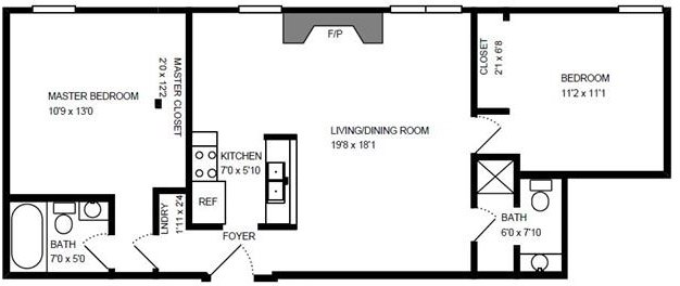 2 Bedrooms, Wrightwood Rental in Chicago, IL for $2,422 - Photo 1