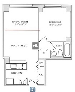 1 Bedroom, Yorkville Rental in NYC for $3,065 - Photo 2