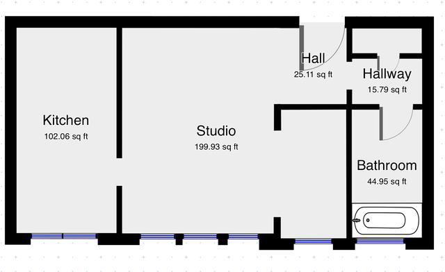 Studio, West Fens Rental in Boston, MA for $1,795 - Photo 2