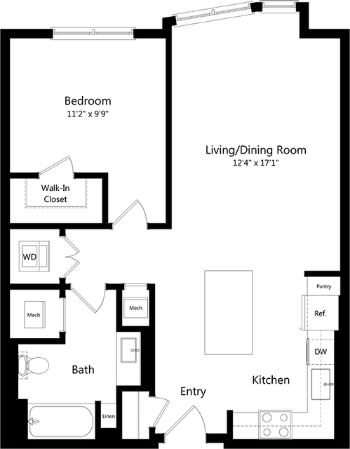 1 Bedroom, Watertown West End Rental in Boston, MA for $2,398 - Photo 2