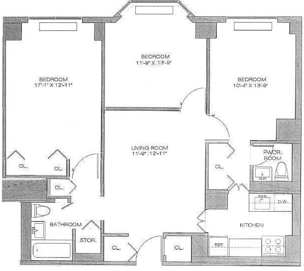2 Bedrooms, Turtle Bay Rental in NYC for $5,000 - Photo 2