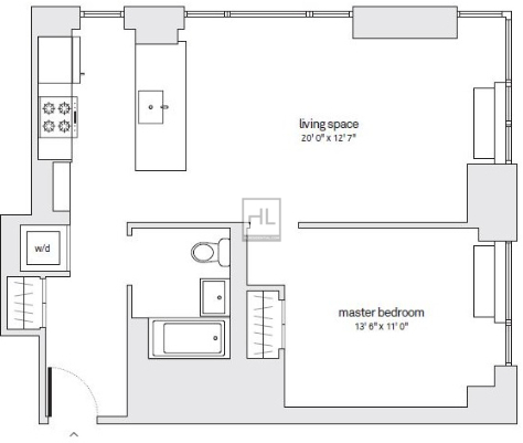 1 Bedroom, Downtown Brooklyn Rental in NYC for $4,333 - Photo 1
