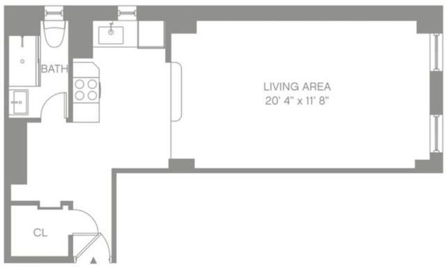 Studio, Morningside Heights Rental in NYC for $3,295 - Photo 2
