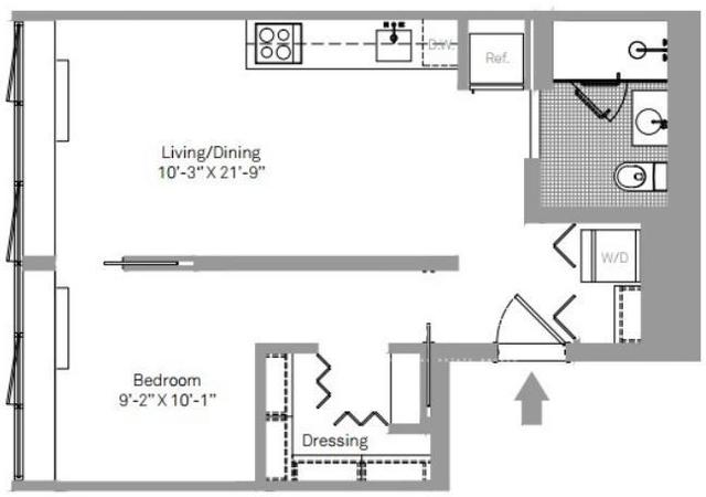 1 Bedroom, Stapleton Rental in NYC for $2,195 - Photo 2