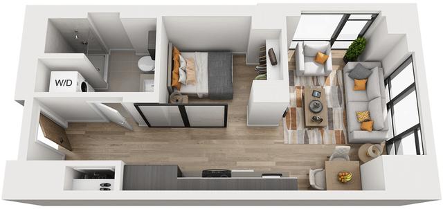 Studio, Shawmut Rental in Boston, MA for $2,869 - Photo 1