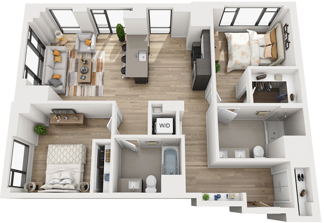 2 Bedrooms, Shawmut Rental in Boston, MA for $4,835 - Photo 1