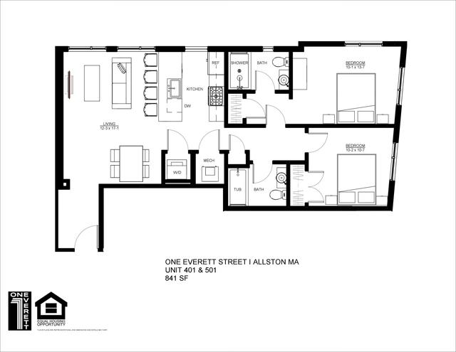 2 Bedrooms, Fields Corner East Rental in Boston, MA for $3,850 - Photo 2