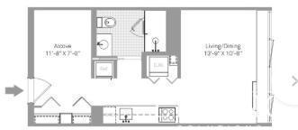 Studio, Stapleton Rental in NYC for $1,527 - Photo 2