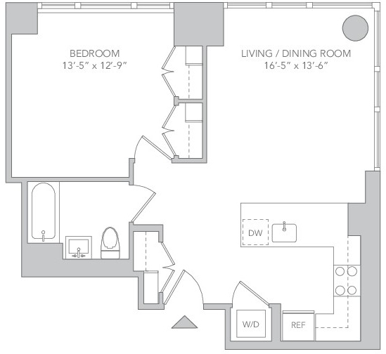 1 Bedroom, Koreatown Rental in NYC for $4,518 - Photo 2