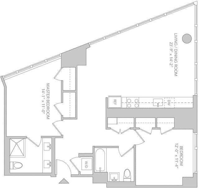 2 Bedrooms, Koreatown Rental in NYC for $6,933 - Photo 2