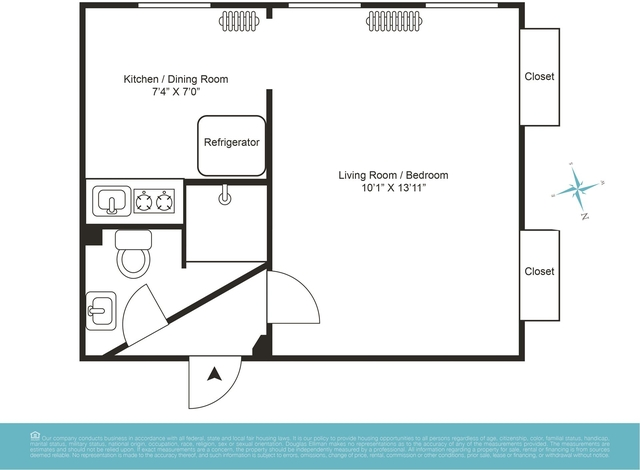 Studio, Sunset Park Rental in NYC for $1,395 - Photo 2