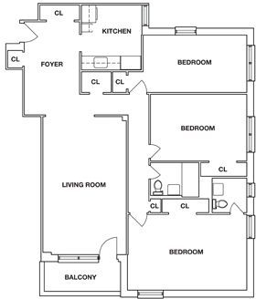 3 Bedrooms, Flushing Rental in NYC for $2,488 - Photo 2